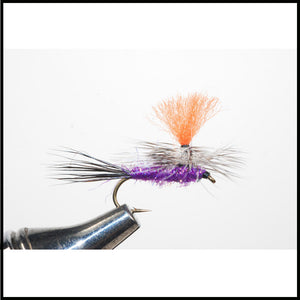 Harry Murray's Purple Dun Dry Fly