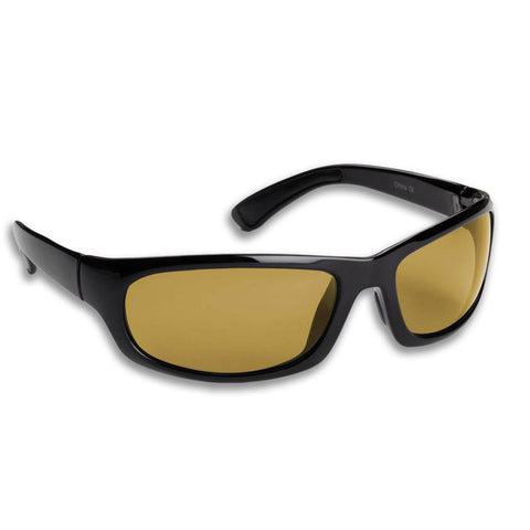 Permit-Black Frame/Yellow Polarized Sunglasses