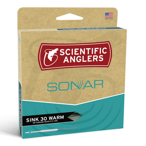 Scientific Anglers Sonar Sink 30 Warm Fly Line