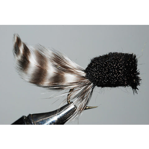 Shenandoah Hair Popper, Black