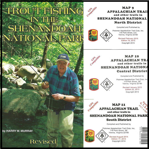 Shenandoah National Park Book with maps
