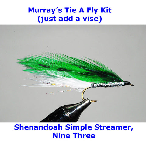 Shenandoah Simple Streamer, Nine Three Fly Tying Kit