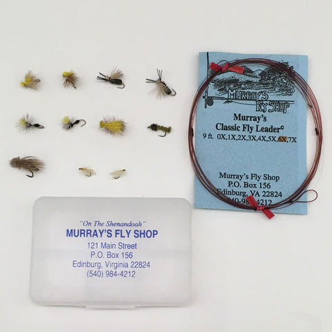 Summer Trout Fly Special with Free Leader