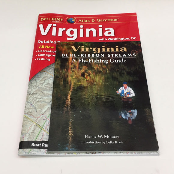 Virginia Blue Ribbon Stream Book with Atlas