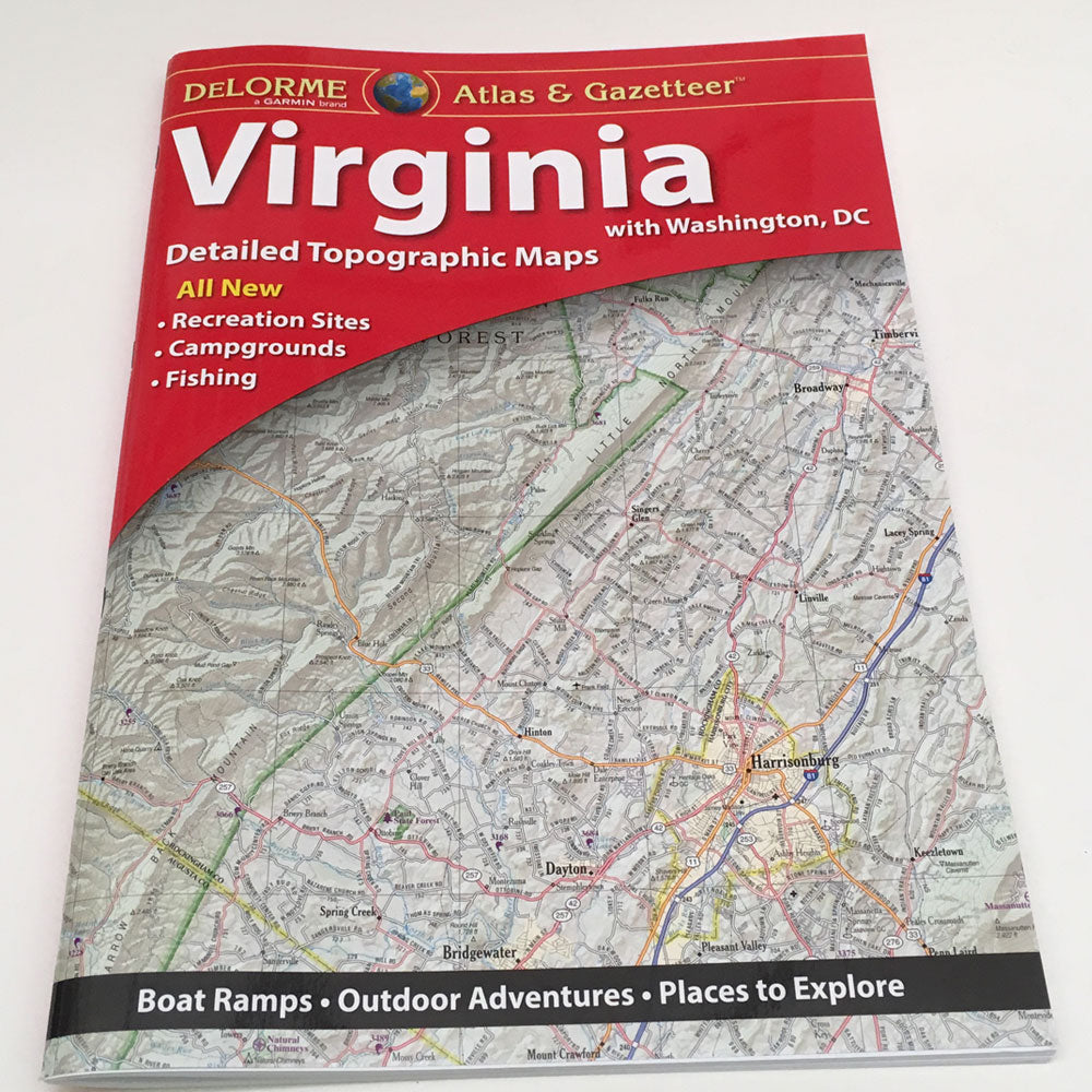 Delorme Atlas Gazetteer Virginia Murray S Fly Shop Fly Fishing Equipment Gear Guide Service Schools Classes