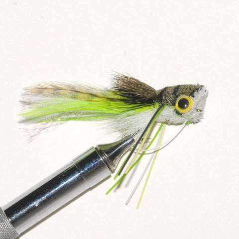 Whitlocks Deer Hair Frog size 10