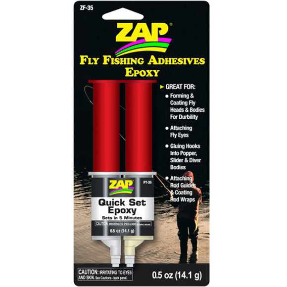 Zap Quick Set 5 Minute Epoxy