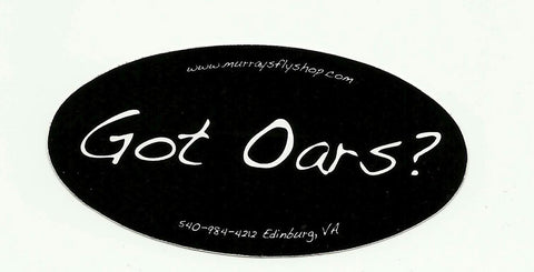 Got Oars Souvenir Sticker