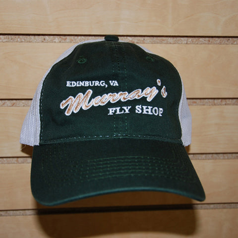 MFS Mesh Hat--Green/White