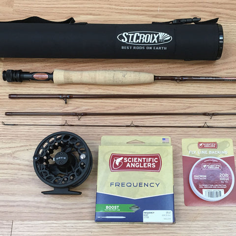 St. Croix Imperial 804-4 Trout Rod Outfit