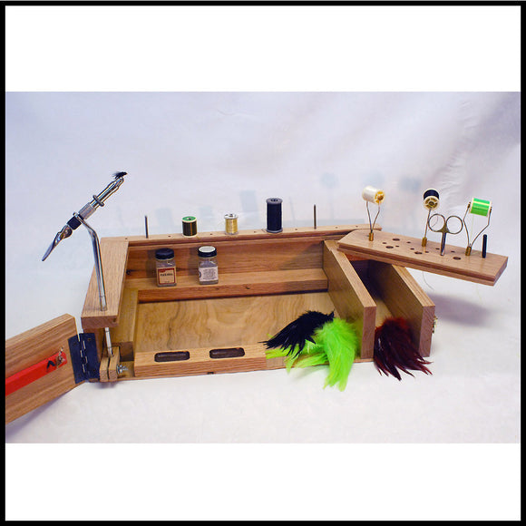 Jacks Fly Tying Travel Desk