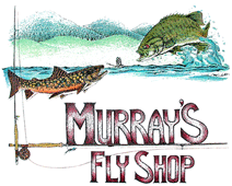 Murray's Fly Shop - Fly Fishing Equipment, Gear, Guide Service, Schools & Classes logo