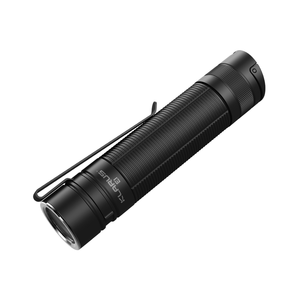 Klarus E1 CREE XP-L HI V4 1000LM Compact Deep Carry Rechargeable Flashlight