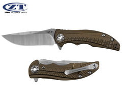 "Zero Tolerance 0609 RJ Martin 3.4"" CPM 20CV Titanium Folding Knife"