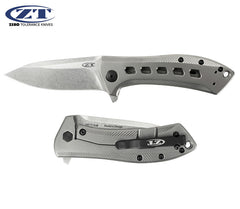 "Zero Tolerance 0801TI Rexford 3.5"" S35VN Titanium Folding Knife"