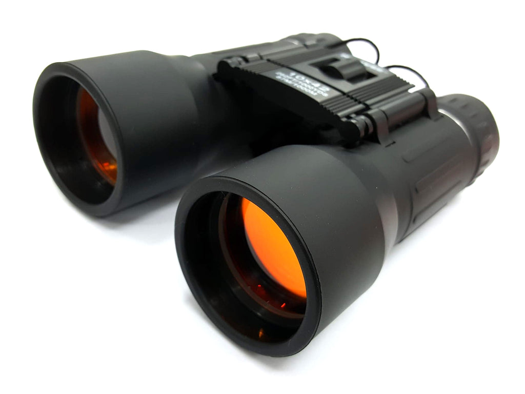 Humvee 10x42 Compact Binoculars with Case