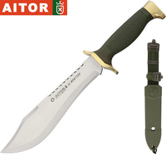 "Aitor El Montero 8.5"" Fixed Blade Hunting Knife with Molded Sheath 16011"