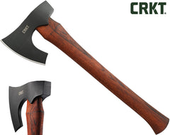 "CRKT Freyr Axe 16"" Hickory Handle - Designed by Elmer Roush - 2746"