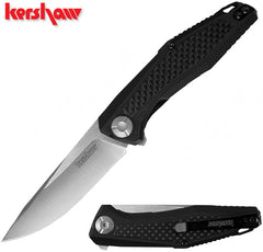 "Kershaw Atmos 3"" KVT G10 Carbon Fiber Folding Knife - Sinkevich Design - 4037"