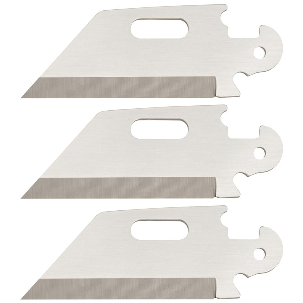 Cold Steel Click-N-Cut 3 Blades - Utility Plain Edge 40AP3B