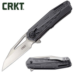 "CRKT Raikiri 3.76"" Field Strip Folding Knife - Dew Hara Design 5040"