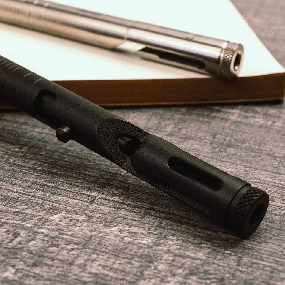Boker Plus CID .45 Cal Bolt Action Tactical Pen Black 09BO085