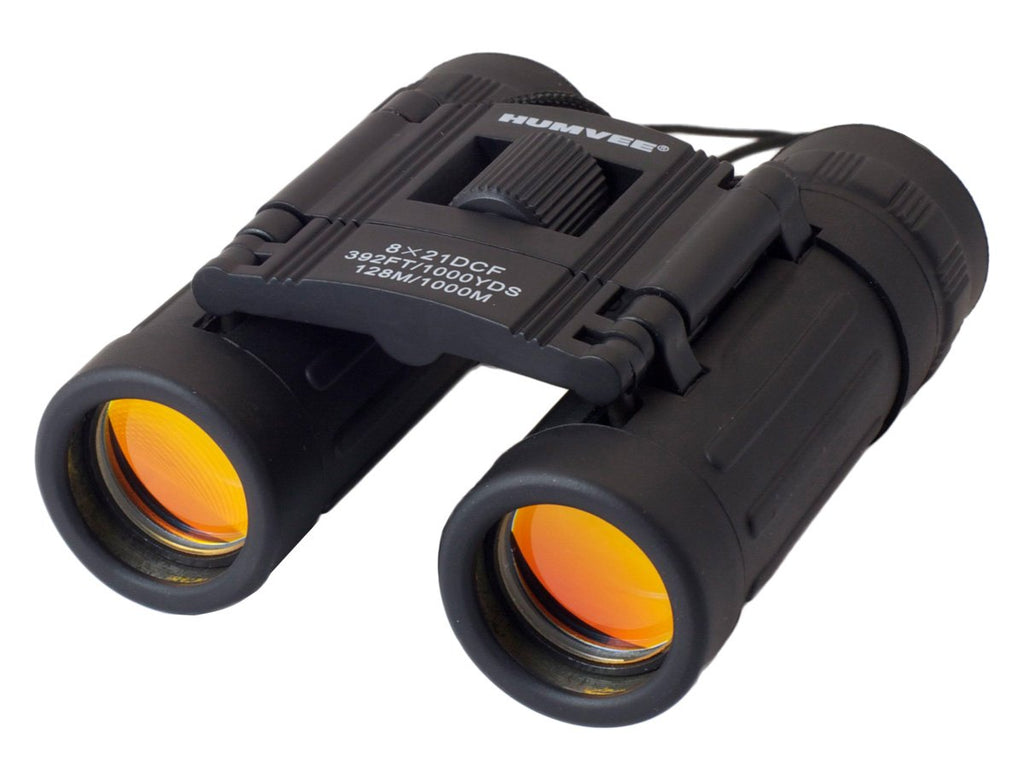 Humvee 8x21 Compact Binoculars with Case