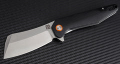 "Artisan Cutlery Osprey 3.74"" D2 Curved G10 Folding Knife"