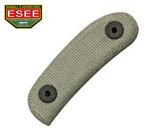 ESEE OD Green Canvas Micarta Handles for Candiru knife CAN-HDL-CNV