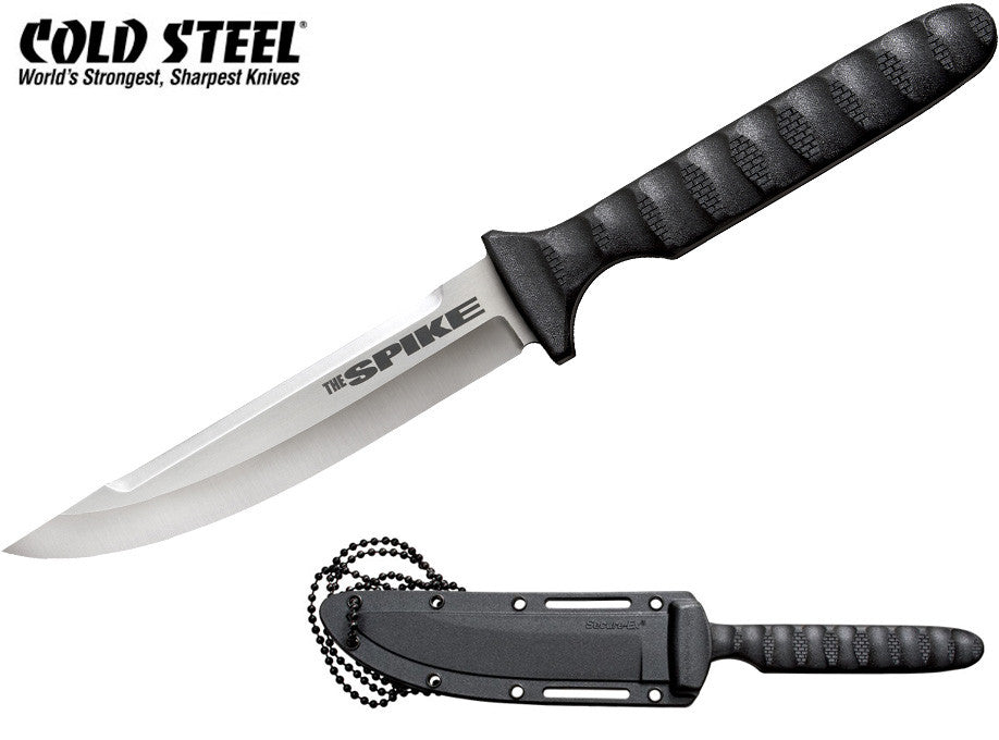 "Cold Steel Tokyo Spike 4"" Tactical Neck Knife with Secure-Ex Sheath 53NHS"