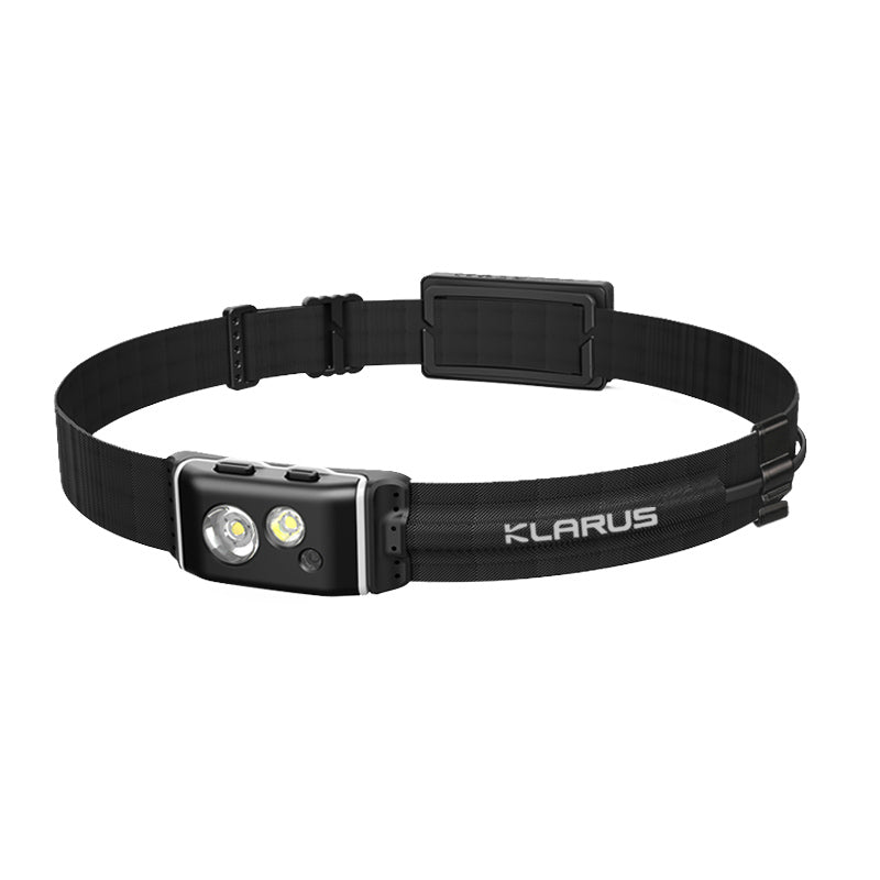 Klarus HR1 Plus Ultra-Thin 600LM CREE XP-G2 2000mAh Rechargeable Headlamp Flashlight