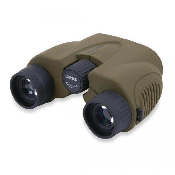 Carson Hornet 8x22 Compact Binoculars with Case HT-822