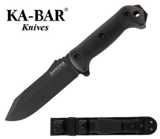 "KA-BAR Becker Crewman 5.5"" Fixed Blade Knife with Polyester Sheath BK10"