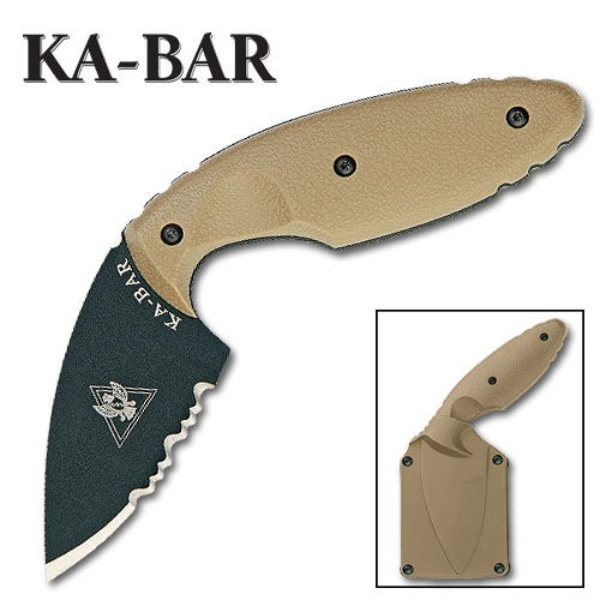 KA-BAR TDI Law Enforcement Knife  - Coyote Brown - 1477CB