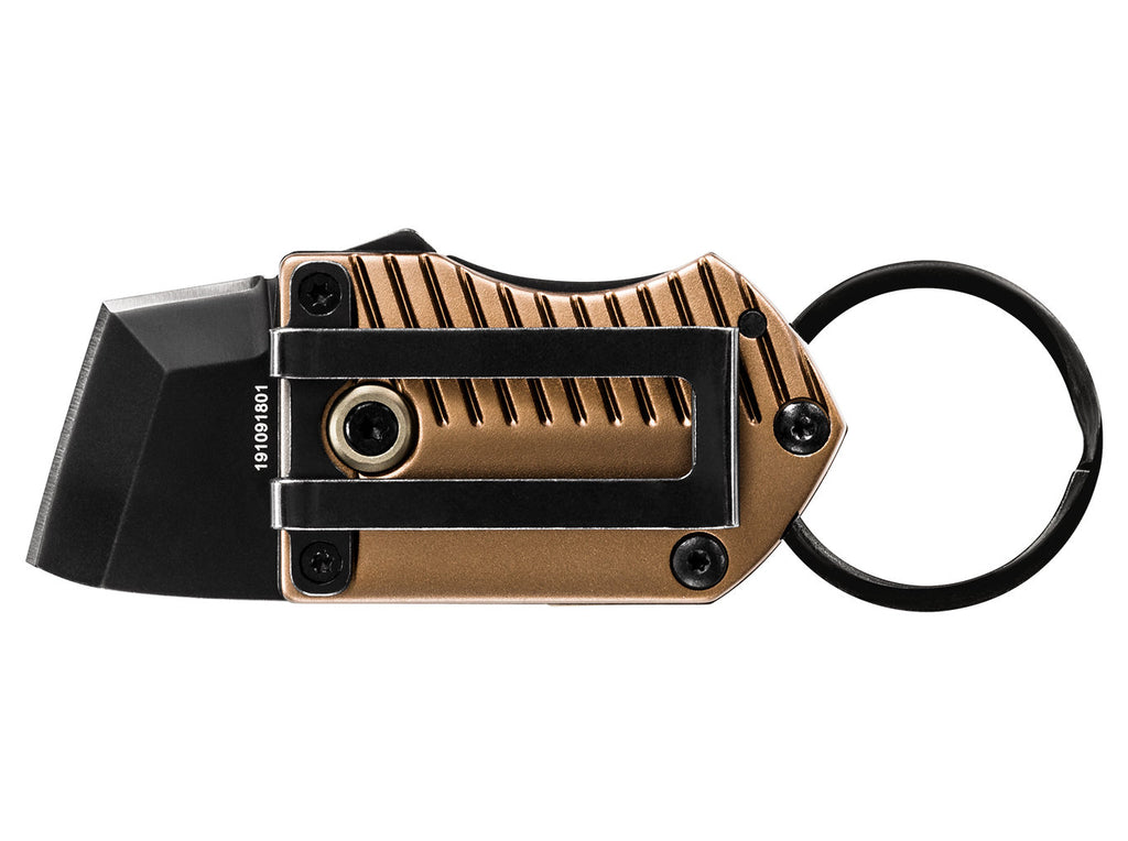Gerber Key Note Keychain Folding Knife Coyote Brown