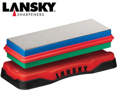 Lansky Double-Sided Diamond Bench Stone Sharpener Medium/Fine DB-2860
