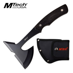 MTech Black Tomahawk Axe with Pakkawood Handle MT-600BK