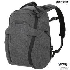 Maxpedition Entity 21 Charcoal EDC Backpack NTTPK21CH