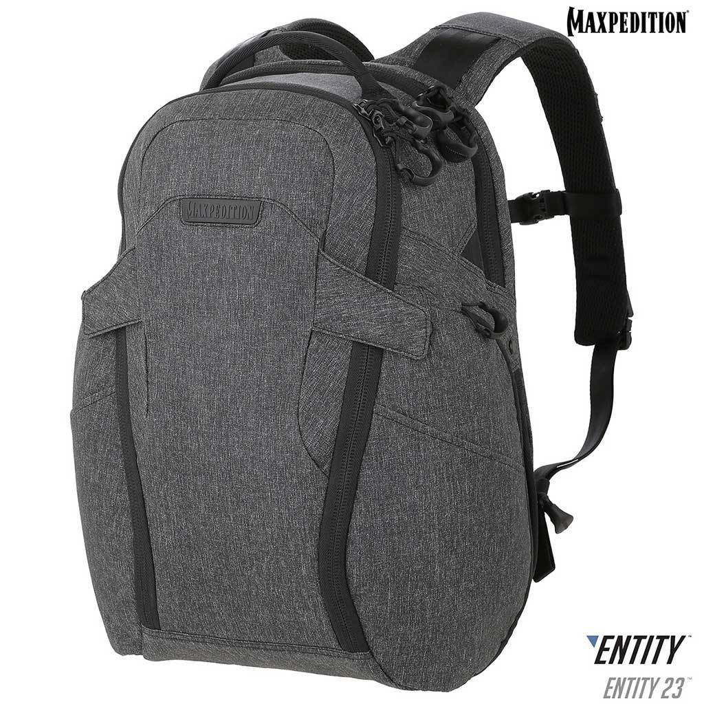 Maxpedition Entity 23 Charcoal Laptop Backpack NTTPK23CH