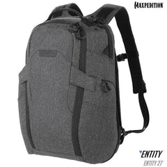 Maxpedition Entity 27 Charcoal Laptop Backpack NTTPK27CH
