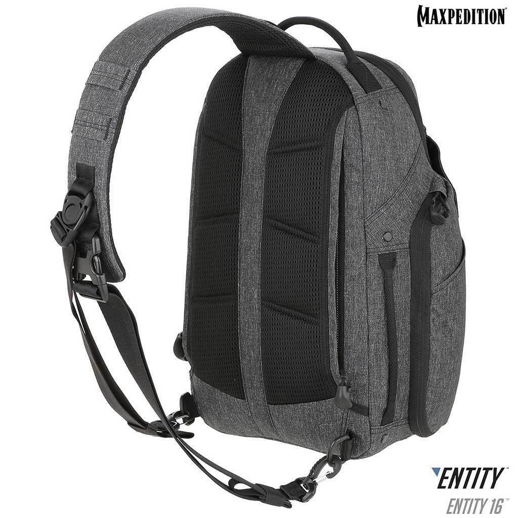 Maxpedition Entity 16 Charcoal EDC Single-Strap Sling/Backpack NTTSL16CH