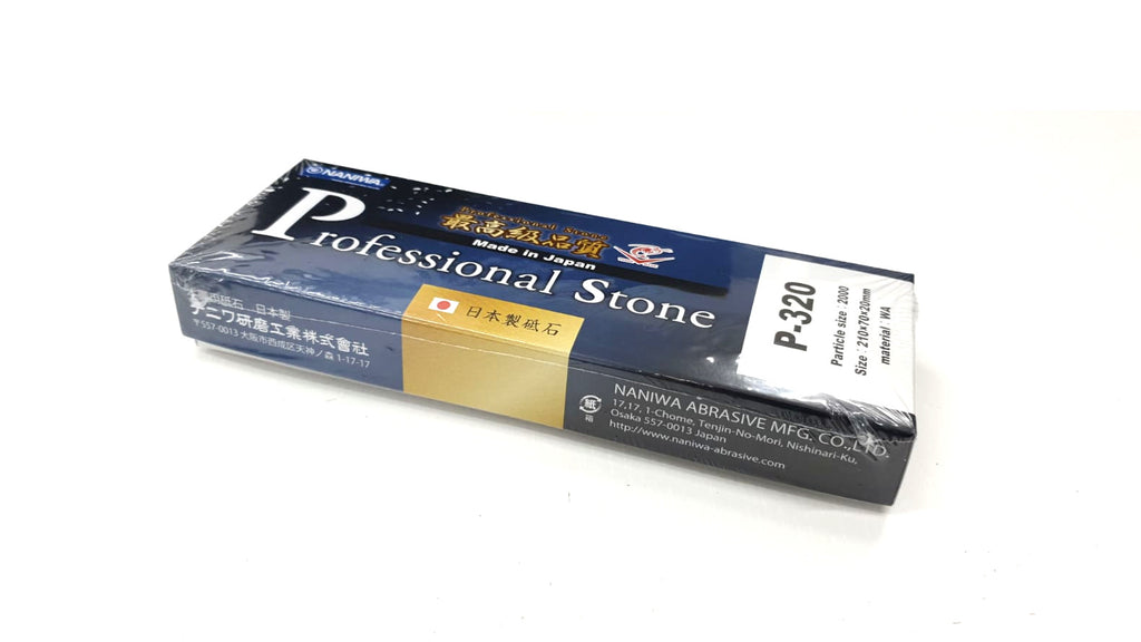 Naniwa P-320 Professional Stone (Chosera) 2000 Grit Japanese Whetstone Knife Sharpener