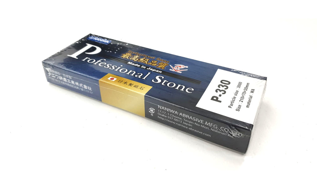 Naniwa P-330 Professional Stone (Chosera) 3000 Grit Japanese Whetstone Knife Sharpener