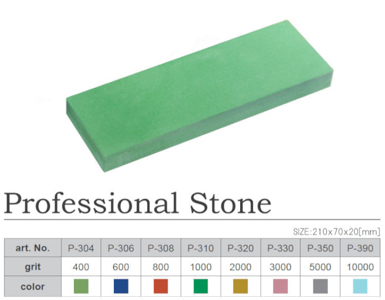 Naniwa P-308 Professional Stone (Chosera) 800 Grit Japanese Whetstone Knife Sharpener