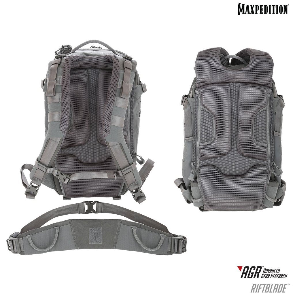 Maxpedition Riftblade 30L Gray Backpack RBDGRY