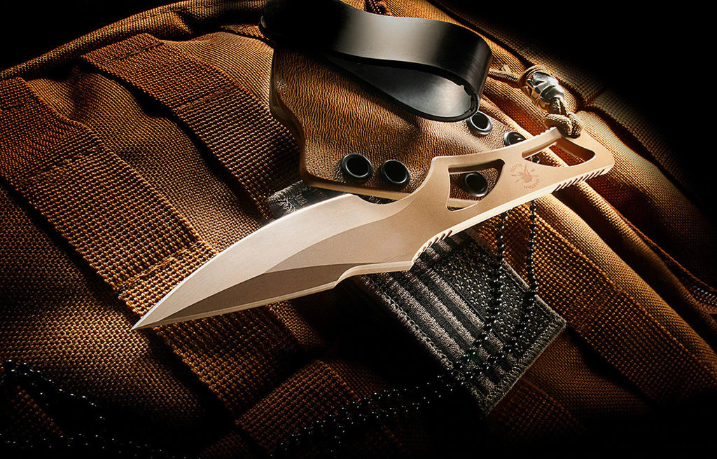 "Spartan Blades Enyo 2.7"" CPM S35VN Elite FDE Fixed Blade Knife"