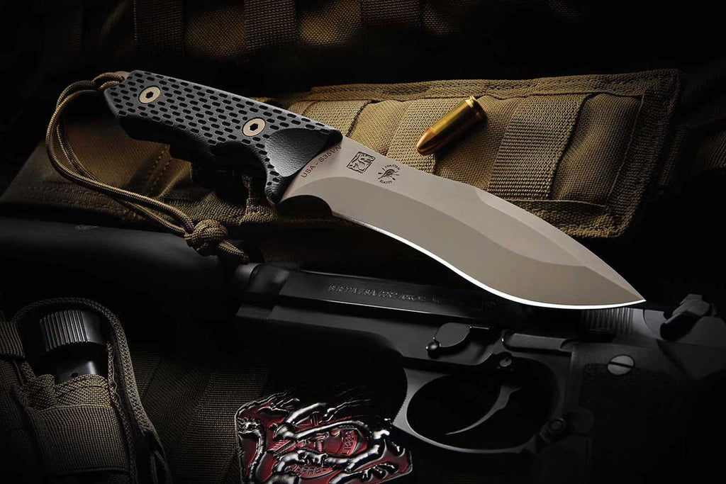 "Spartan Blades Ronin Shinto 5.7"" CPM S35VN FDE Fixed Blade Knife with Tan MOLLE Sheath"