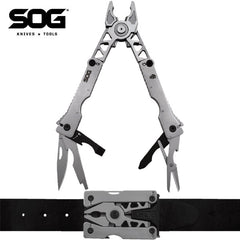 "SOG Sync II Belt Buckle Multi-Tool 3.1"" Closed SN1011-CP"