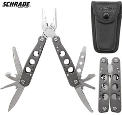 Schrade Tough® Tool 15 Function Multi-Tool With Spring-loaded Pliers ST10