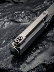 WE Knife Company TP-02C Satin Titanium Bolt-Action Tactical Pen